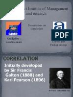 Correlation Ppt