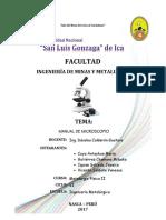 Manual de Microscopio Compuesto