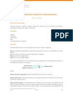 Conceptos Fundamentales (Átomos, Moléculas, Mol)