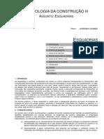 Apostila de Tecnologia III (Esquadrias) 01