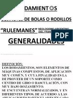 01. Generalidades Rodamientos