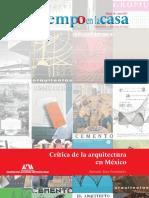 Critica Dela Arquitectura en México