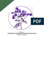 Programa Territorial Cs. Biológicas Dani Pinto