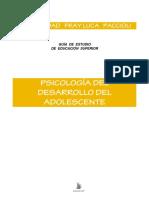 Psicología Del Desarrollo Adolescente 2016