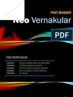 neo vernacular