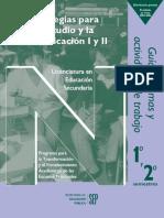 Estrategias Para el Estudio y la Comunicación I y II