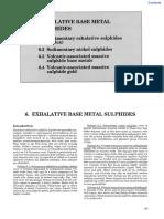 Exhalative Base Metal Sulphides