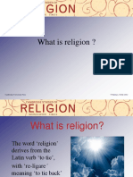 Overview of Religions Big Powerpoint