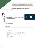 EMD-Electric Motor Diagnosis