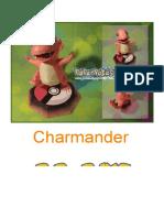 Charmander A4 Shiny Lineless