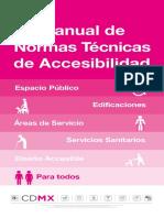 Manual de Normas Técnicas  de Accesibilidad