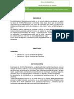 Informe Experimental 2 Ley de Kirchoff