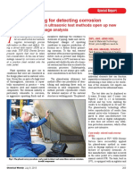 NDT Ultrasonic Testing