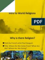 Intro to World Religions