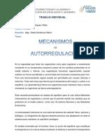 Analisis Mecanismo de Autorregulacion