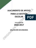 Documento de Apoyo Para La Gestion Escol