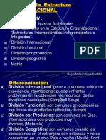 Diseno de La Estructura Organizacional