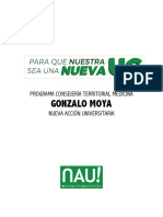 Medicina - Gonzalo Moya