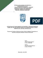 Estrategias de Financiamiento en PyMEs de La COL