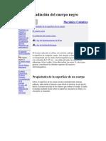 49670820 La Radiacion Del Cuerpo Negro[1]