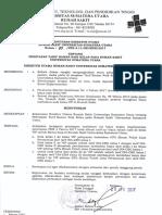 SK Penetapan Tarif Kamar Naik Kelas RS USU