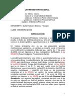 Notas de Derecho Probatorio General