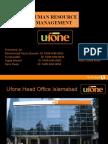 UFone Presentation (HRM)Final