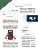 Practica 1 Introduccion a Los Equipos y Materiales de Laboratorio.
