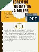 Derecho Laboral de La Mujer