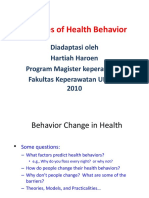 Teori Health Behavior