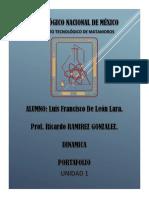 Luis de León Lara - Portafolio- Dinamica - u1