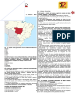 Aula 01 - Geografia de MT - Prof. Frankes - Exercícios (1)