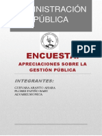 Informe Gestión de La Administración de Personal
