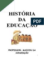 historia da educao
