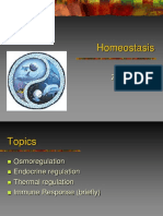 Ch. 7 (Homeostasis-osmoregulation, Endocrine, Temperature)
