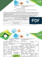 Guía de actividades y rúbrica de evaluación - Fase 2. Introducción al análisis espacial