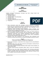 Spesifikasi Teknis DERMAGA KAYU