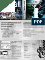 Bionicle Heroes - Manual - GBA