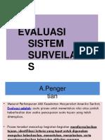 7. Evaluasi Sistem Surveilans