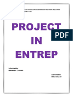 Project in Entrep 4