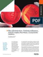 Recubrimientos Antimicrobianos