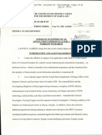 Affidavit in support of an application under rule 41 for a warrant to search 2/6/15