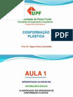 1 - Conformacao Plastica - Classificacao
