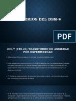 Criterios Del Dsm-V