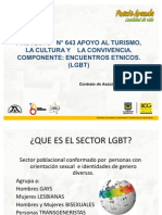 Presentación Encuentro LGBT PUENTE ARANDA. Contrato 045
