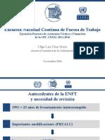 Presentación Etapas Ejecución Proyecto ENCFT-OIT-CEPAL