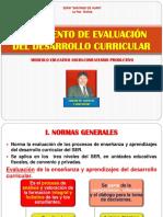 Reglamento de Evaluación E-reg.