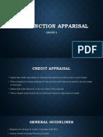 Pre Sanction Appraisal