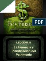 Spanish - Ch 11 La Herencia y Planificacion