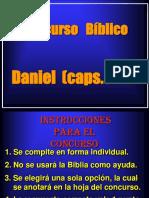 Concurso Biblico de Daniel